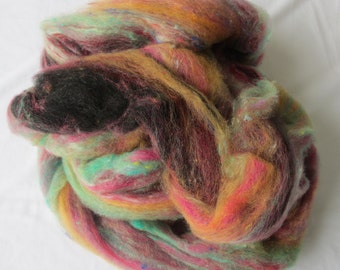 Crosspatch Creations Cat's Whiskers Nubby Swirl Roving