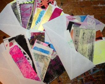 Gelli Print Scrap Pack