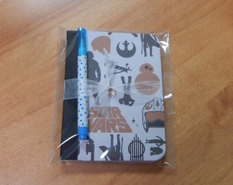 Up cycled MINI Composition Book Disney Star Wars A Force Awakens