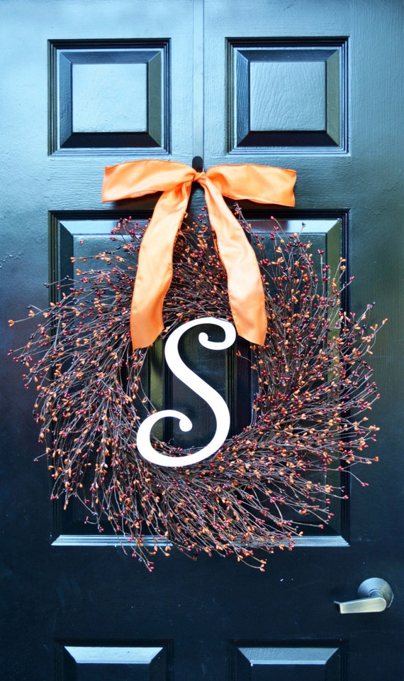 Fall Pip Berry Wreath- Autumn Berry Wreath- Fall Decorations- Front Door Wreath- Fall Wreaths- Fall Sunset Pip Berries- Autumn Berries