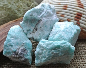 Amazonite RANDOM pick // Wicca Crystals // Throat Chakra // Healing Crystals and Stones // Rocks and Minerals //  New Age Tools // Blue