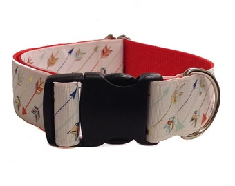 Robin Hood Wide Dog Collar Buckle or Martingale 1.5""