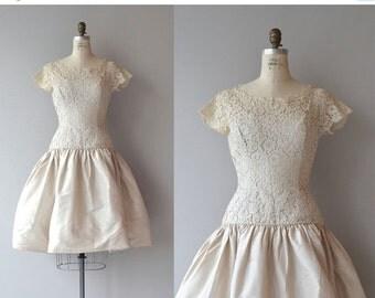 25% OFF.... Airs Variés dress   vintage 1950s dress   lace 50s party dress