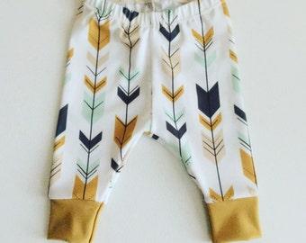 Baby Boy Leggings - Pants Only - Premium Custom Fabric