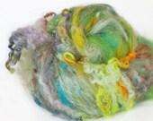 First Light 3.8 oz  Wool - Merino- Art Batt // Wool Art Batt for spinning or felting