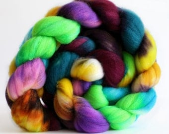 Spin Drift 4 oz Merino softest 19.5 micron Roving Top for spinning