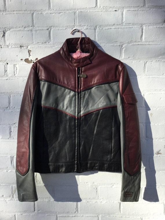 Vintage rex marsee leather jacket
