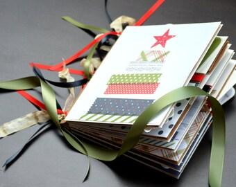 On Sale Christmas Photo Album Family Album Holiday Photo Album Keepsake Made To Order