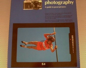 """Vintage 1979 """"A Short Course in Minolta Photography"""" Softcover Book by Barbara London"""