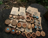 Wholesale Wooden Earrings Wholesale Wooden Earrings Lot MMM