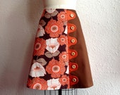 Poppy asymmetrical a-line skirt Sz 12