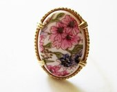 Vintage Sarah Coventry Cabochon Ring