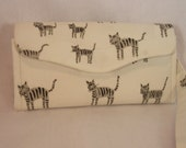Necessary Clutch Wallet-Japanese Cats Wallet-Smartphone Wallet-Accordian Style Clutch Wallet-Multi-Purpose Wallet