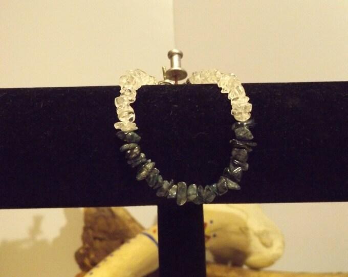 Green Aventurine Clear Quartz Healing Bracelet, Healing Crystal and Gemstone Jewelry, Healing Jewelry, Healing Crystal and Stones