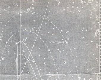 Antique Star Chart - 1856 Astronomy Print - Zodiacal Light - Vintage Print - No. 167