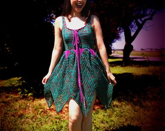 PATTERN for Knitted Faerie Dress