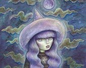 Witch Moon - 8x8 print