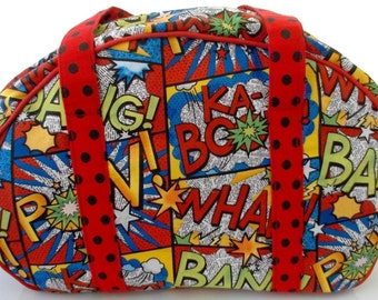 Bowling Bag, Purse, Comic