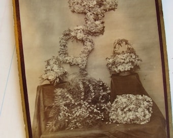 Gorgeous Post Mortem Funeral Flowers Cabinet Photo