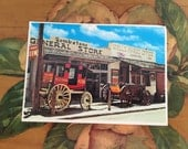 Tombstone Postcard Vintage Souvenir Photos Travel USA Western Wells Fargo General Store Stagecoach Arizona