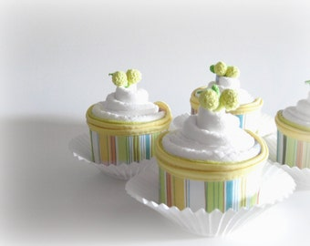 Sweet Diaper Cupcakes, Baby Shower Gift