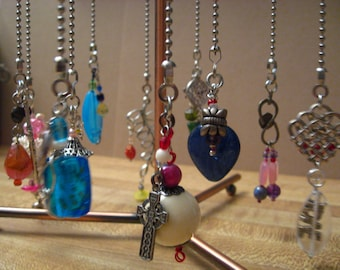 INVENTORY SPECIAL Light or FAN pull or Rear View Mirror Charms