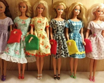 Pretty little dresses for Barbie  #2