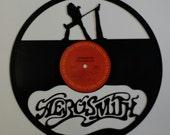 AEROSMITH vinyl record silhouette