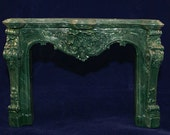 1:12 Scale Fireplace Mantel - Rococo (R3)