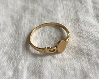 Victorian Midi-Ring 14k Gold Ring