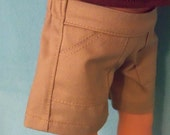 18 inch Doll Khaki Tan Shorts
