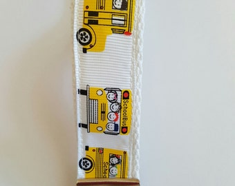 School Bus keyfob