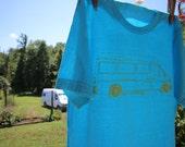 Van Life - Sprinter Van - Camper Van T-Shirt - Live Radical - Organic Cotton