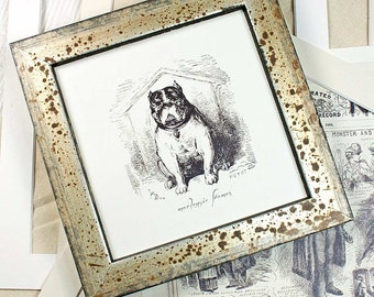 5x5in Antiqued-Silver Photo Frame