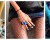 1 Color Ball Ring for Petite Slimline Dolls You choose colors Made When Ordered 11 different colors