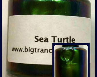 NEW - Multichrome (Sea Turtle) Multi-Color Shifting Polish: Custom-Blended Glitter Nail Polish / Indie Lacquer