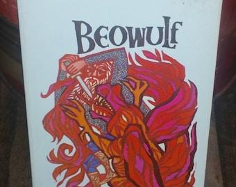 Beowulf by Burton Raffel Vintage Paperback Book