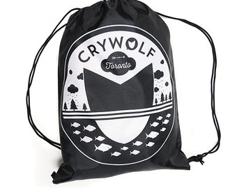 Logo Drawstring Cinch Sack