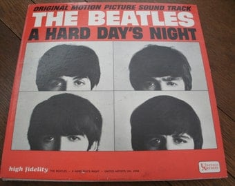"The Beatles ""A Hard Day's Night"" Original Vinyl LP"