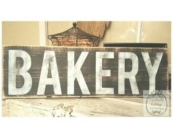Handpainted Bakery sign