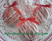 Valentine's Day Chocolate Covered Oreos Cookies Valentine's Day Party Favors Valentine Chocolate Candy Valentine Treat Valentine Edible Gift