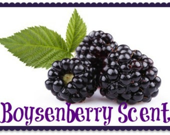 BOYSENBERRY Scented Soy Melts - Berry Scented - Fruit - Soy Wax Wickless Candle - Highly Scented - Hand Poured In USA - Air Freshener