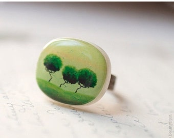 Green tree ring - Green ring (R015)