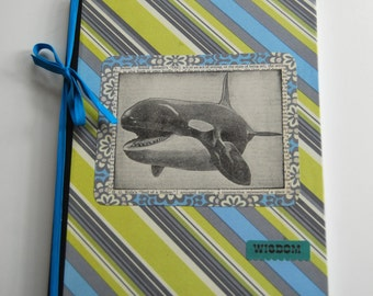 Notebook, Whale, Journal