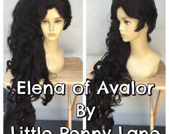 Elena of Avalor Adult Costume Wig - A True Enchantment Original