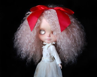 "RESERVED!!! 3rd PAYMENT. Custom Blythe doll Ashley's Secret mohair reroot ""Cotton"" by Fausto & Gretchen. Layaway accepted."
