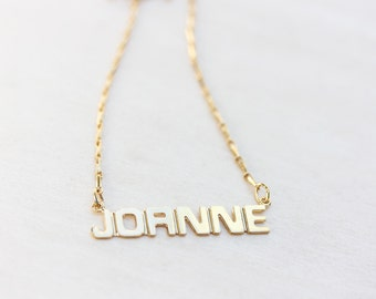 Name Necklace - Joanne