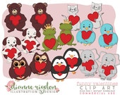 Clip Art Bundle - .PNG - Commercial Use - Instant Download - High Resolution - My Funny Valentines