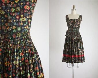 1950s harvest dress