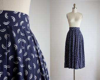 waxing moon skirt